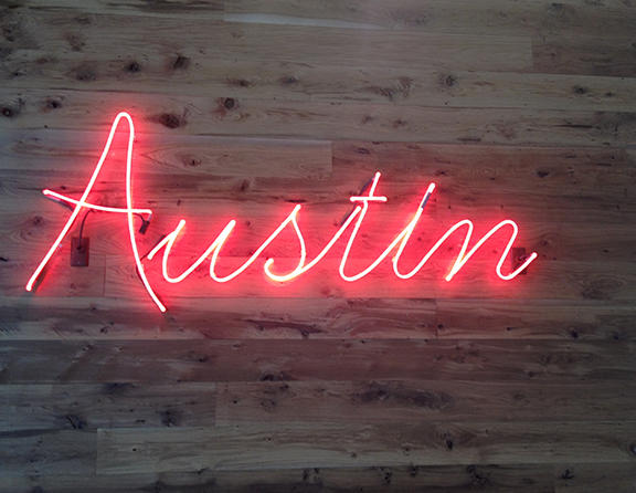 Austin Sign Photo Credit Austin Convention & Visitors Bureau