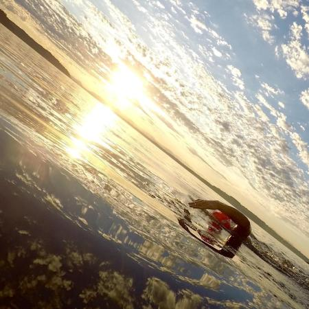 Open water swimming at Owen Beach 02