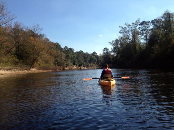 Village Creek Paddle in the Big Thicket National Preserve