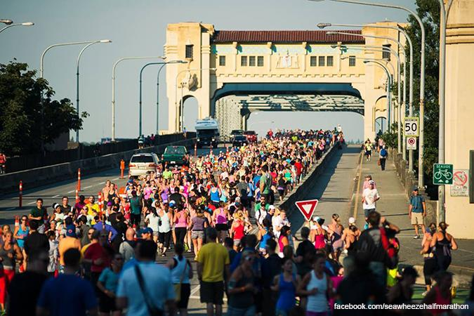lululemon Seawheeze Half Marathon