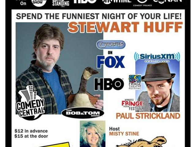 Comedy Caravan with Stewart Huff