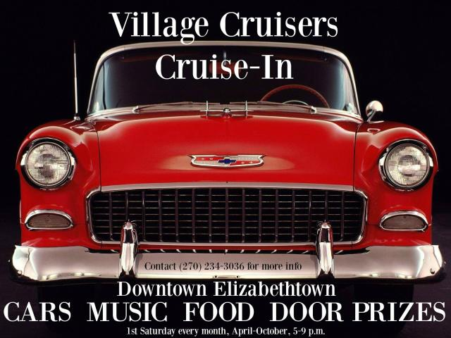 Village Cruisers Cruise-In Downtown Elizabethtown, KY