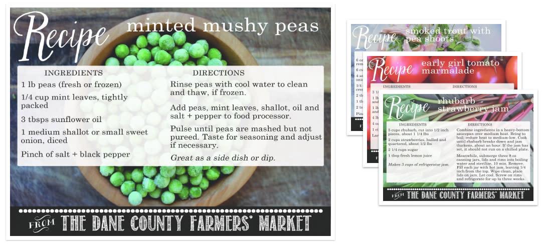 Spring Season Recipes: Dane County Farmers' Market