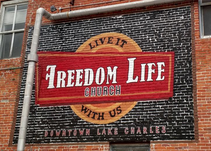 Freedom Life Church mural