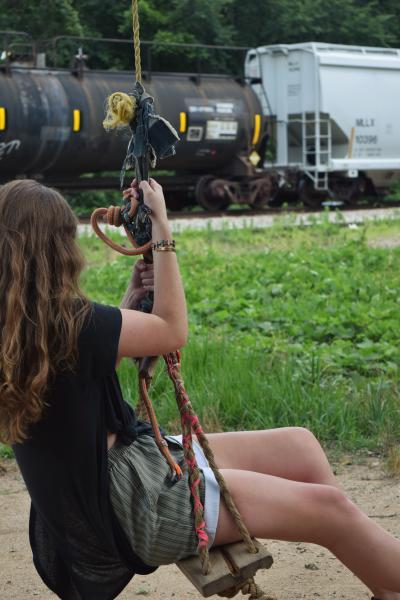 pulaski heights swing and train