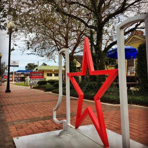 Bike Rack - Lone Star