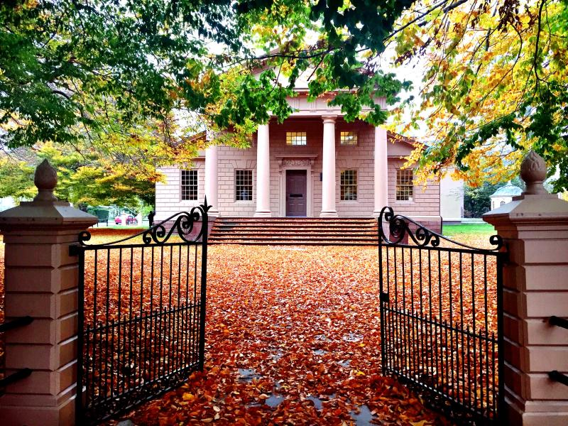 Redwood Library Fall