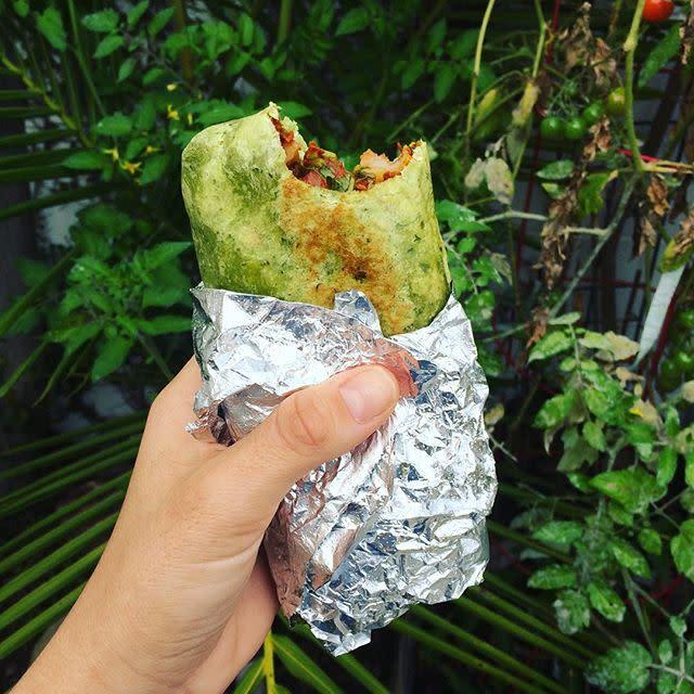 Secret Spot Burrito