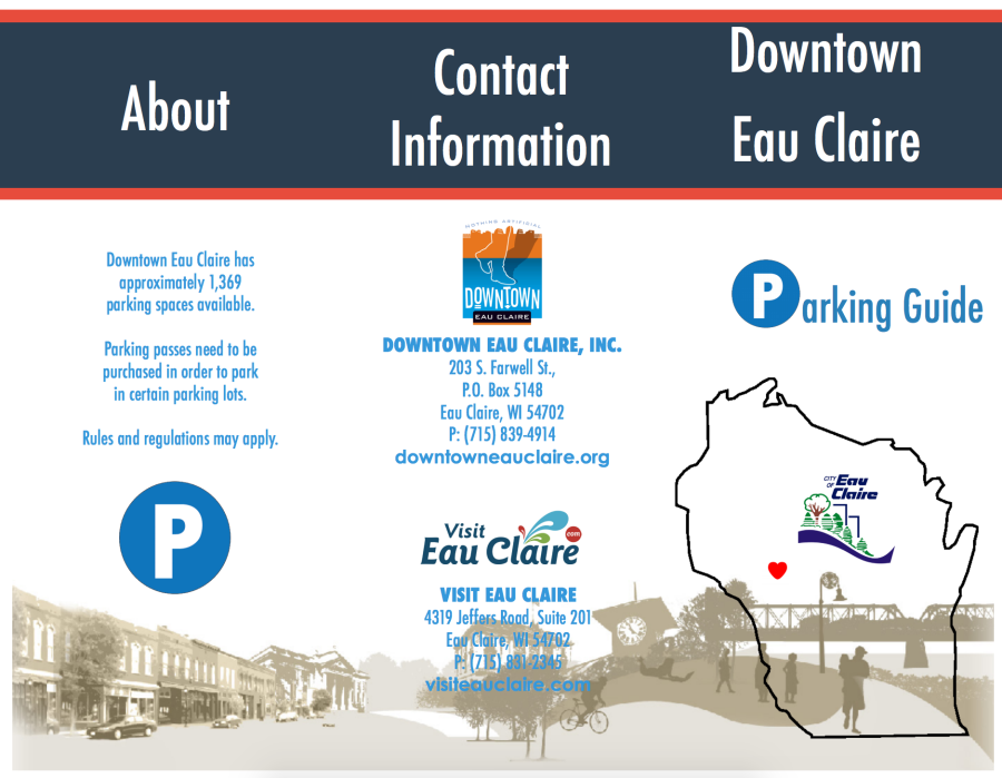 Downtown Parking Pamphlet Pg. 1