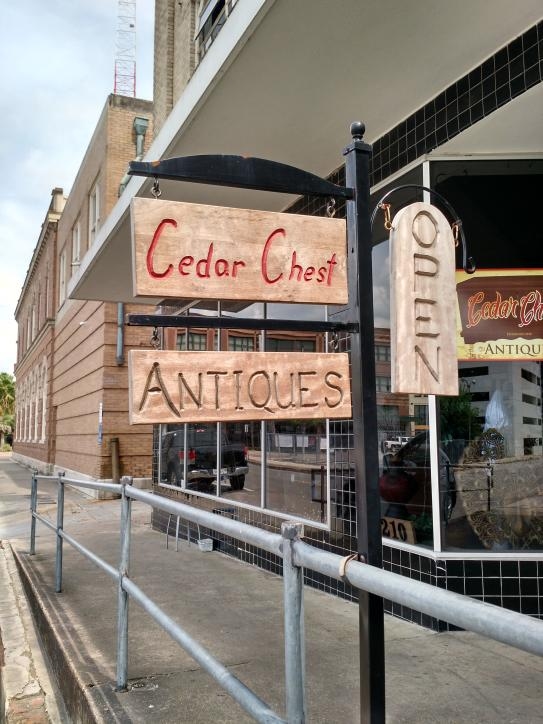 Visit Cedar Chest Antiques, in Lake Charles, to explore room after room  of antiques.