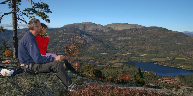 Hiking, Vrådal