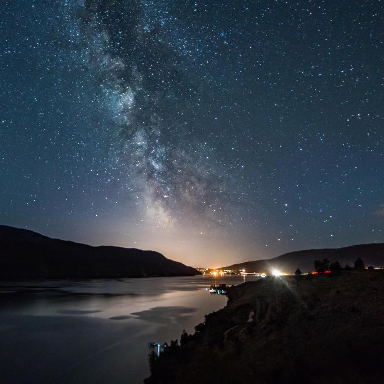The Milky Way at Kekuli Bay Provincial Park