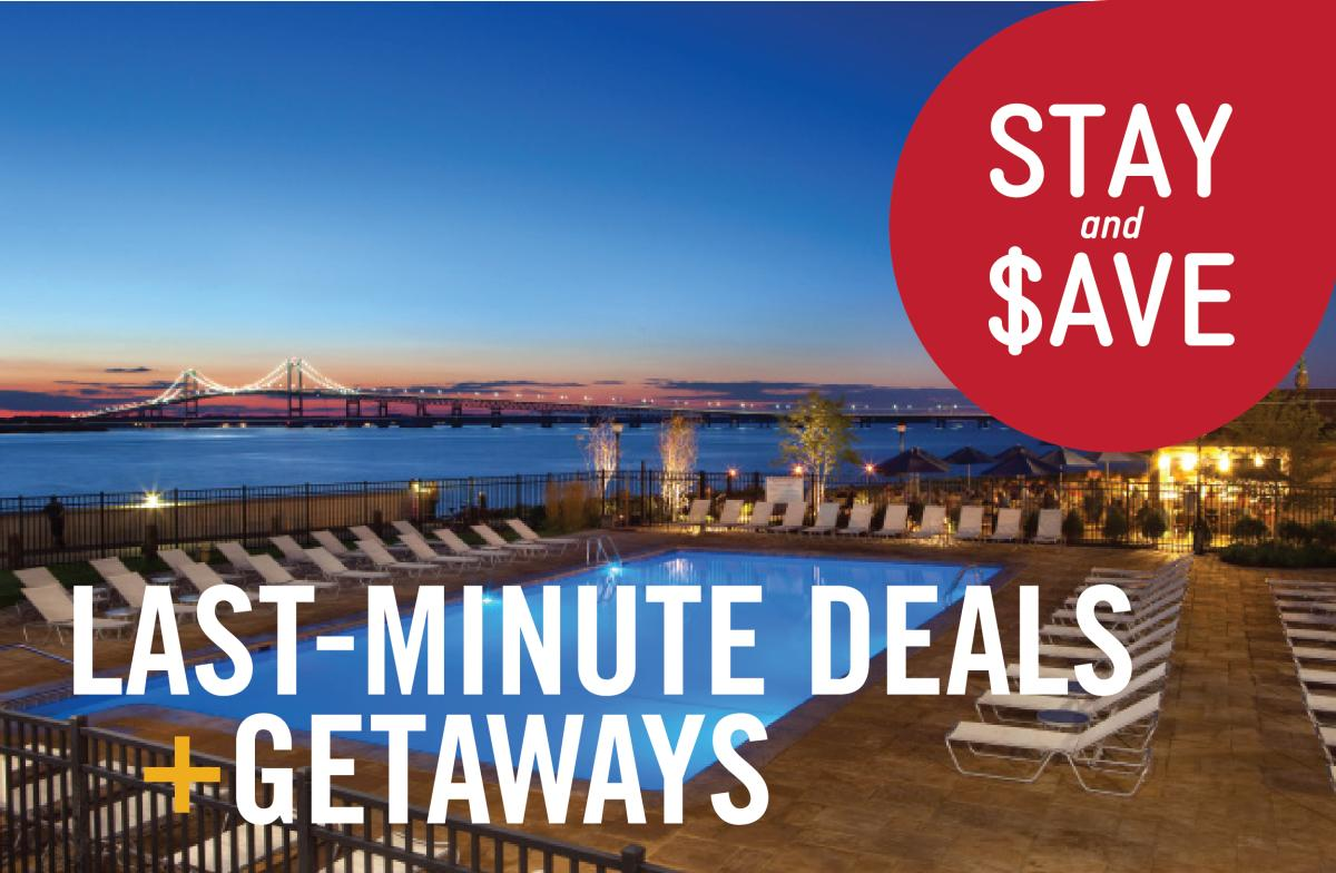 Last Minute Deals + Getaways