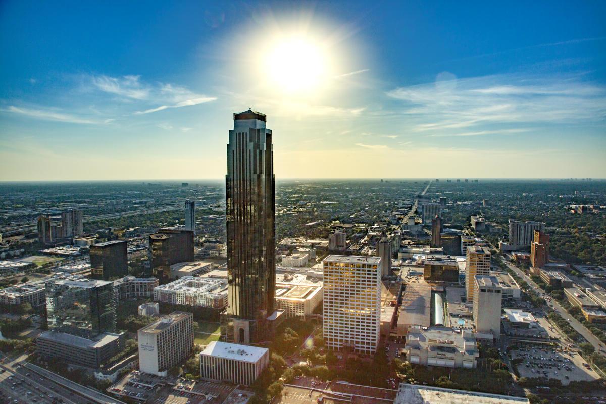 Houston Galleria Skyline