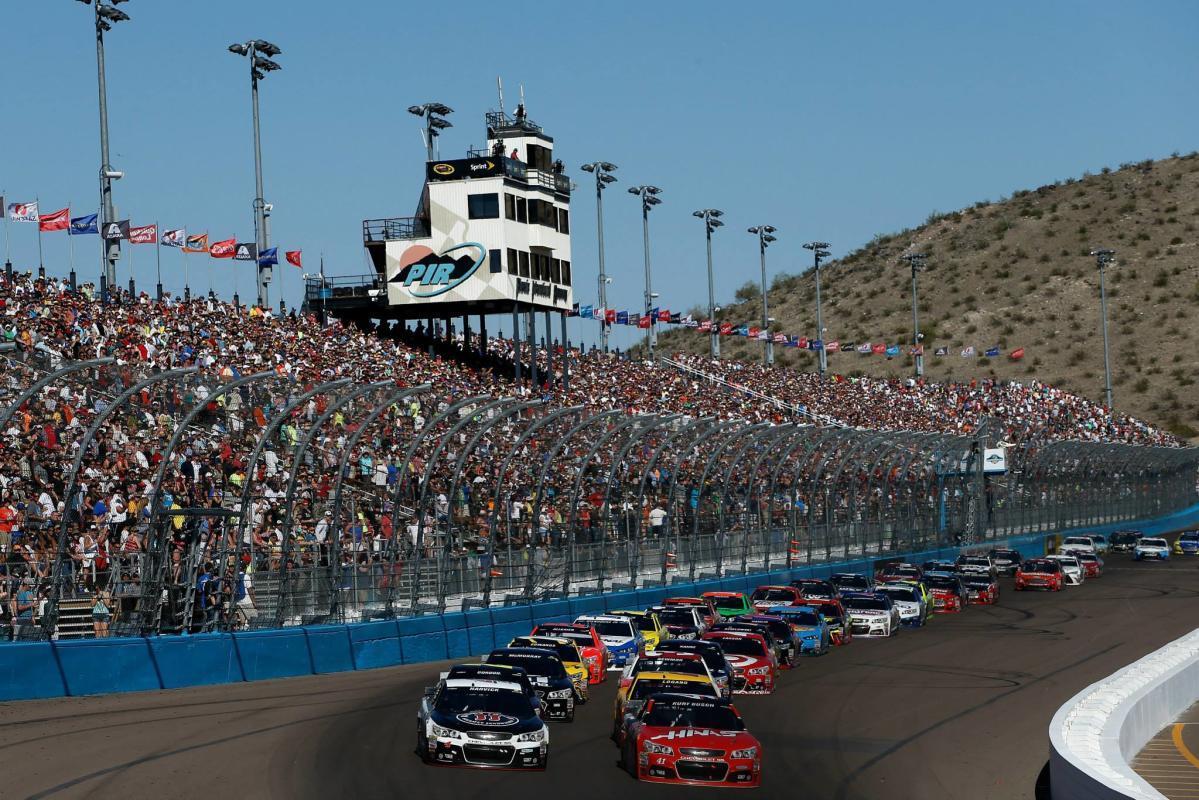 NASCAR can-am 500 Race Weekend