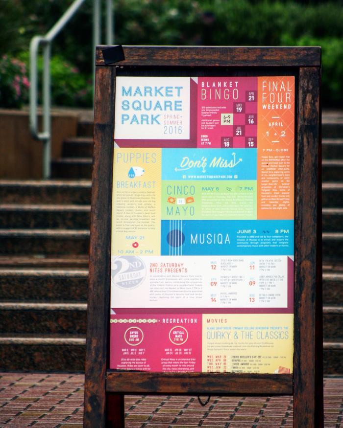 Market Square Park Sign - Yo Mariana