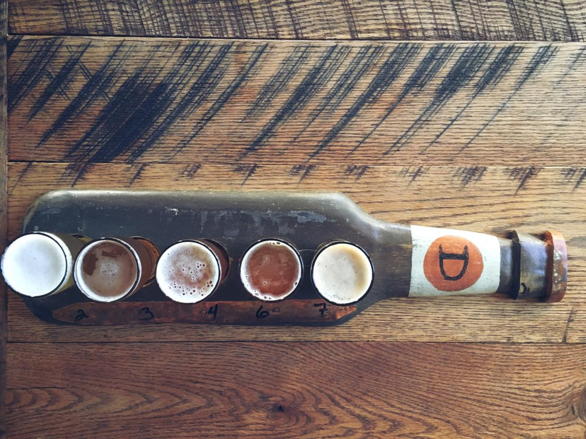 """A third-generation beer lover uses more than 60 years of knowledge and passion to make Bucks County proud to craft low-calorie, high-taste brews at the Doylestown Brewing Company. Try their award-winning """"R5 Lager"""" or """"Union St IPA!"""""""