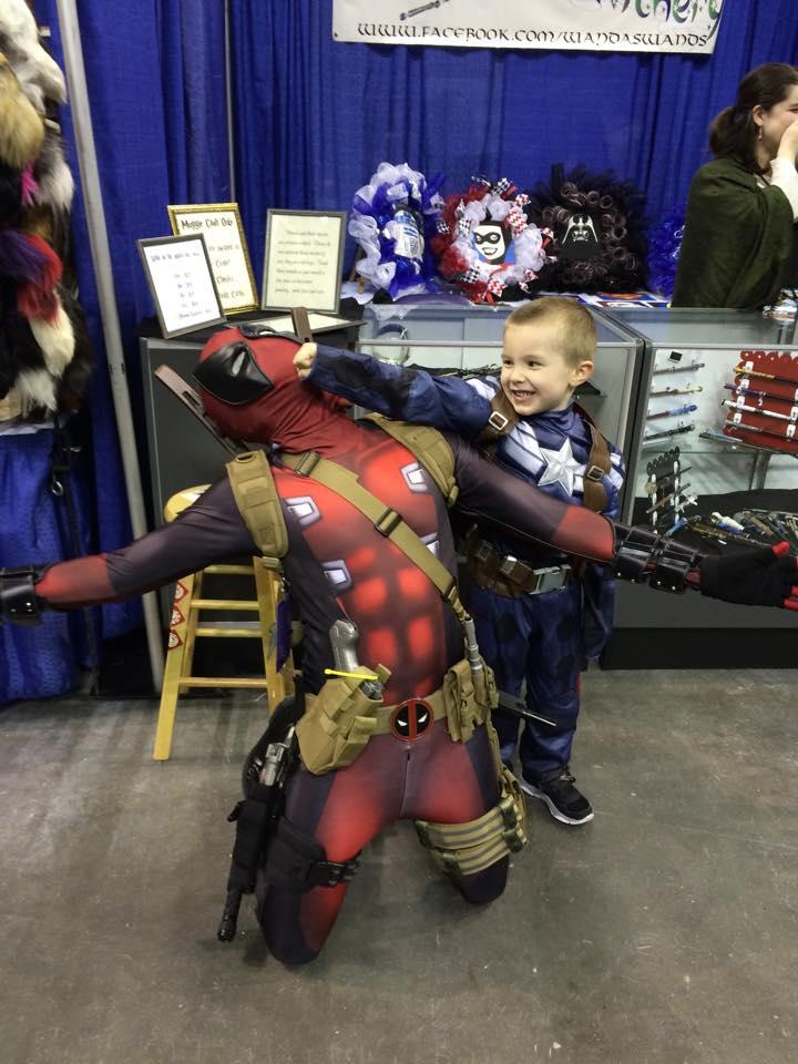 Pensacon - Deadpool - Boy