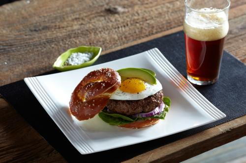 Beer and burgers: a classic pairing  at Stella's