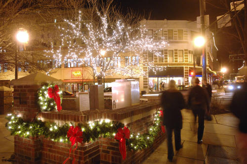 Holidays in Downtown Asheville