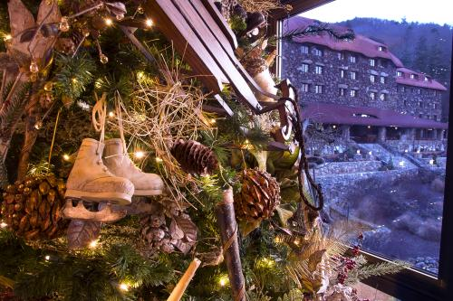 Christmas at Omni Grove Park Inn