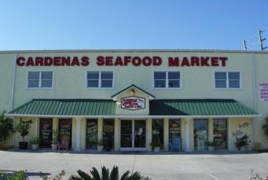 Cardenas seafood market for Fish market panama city beach