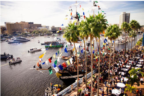 Gasparilla Pirate Fest Parade