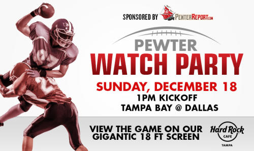 Pewter Report Watch Party