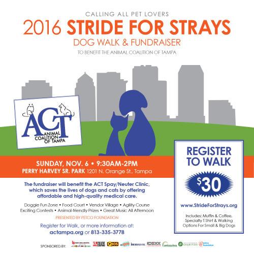 Stride for Strays