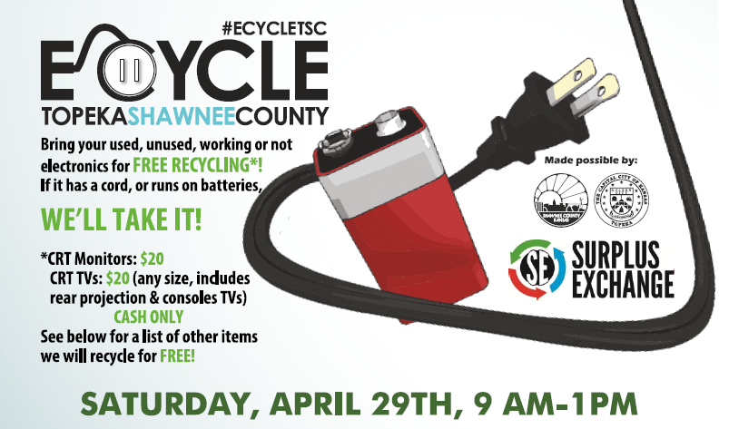 Topeka Electronic Recycling Event