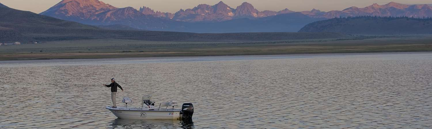 Mono county fishing marinas rentals reports for Best fishing in california