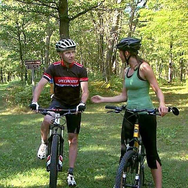 Video Thumbnail - youtube - Discover Wisconsin Stevens Point Area Biking Segment
