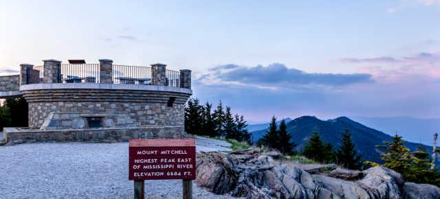 Mount Mitchell Observation Deck