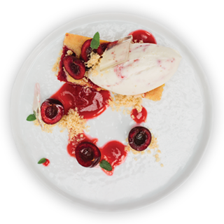 Housemade Sorbet, Rhubarb