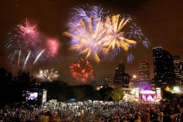 Fourth of July in Houston
