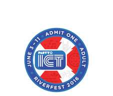 Riverfest Button 2016