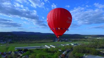 BALLOON RIDES DAILY BY U.S. HOT AIR BALLOON TEAM