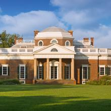Monticello - West Front