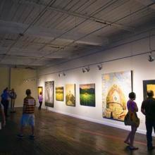 Lowe Mill-indoor gallery shot