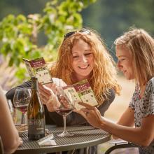 Pinot Bingo at Iris Vineyards