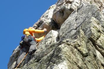 Climbing White Rocks