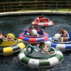 Bumper Boats Roundtop Resort