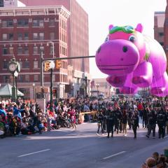 Christmas Parade Hippo