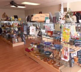Artisan Marketplace display cases