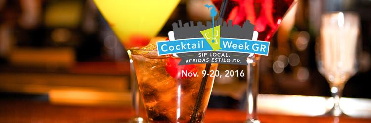 Cocktail Week Grand Rapids - Nov 9-20