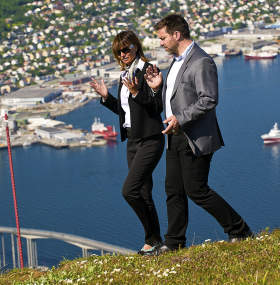 Tromso meeting hill