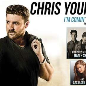 Chris Young - Fort Wayne, IN Concert Poster