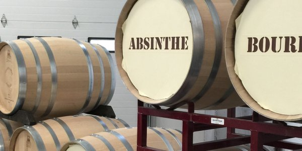 Wollersheim Winery Bourbon Kegs