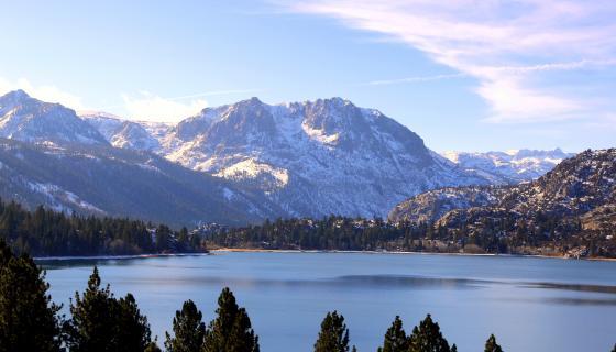 June Lake oh ridge