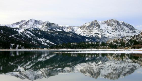 June Lake Winter